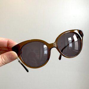 Madewell round cat eye Athens sunglasses